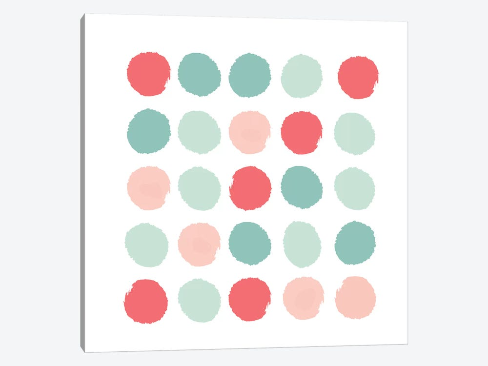 Joro Dots by Charlotte Winter 1-piece Canvas Wall Art