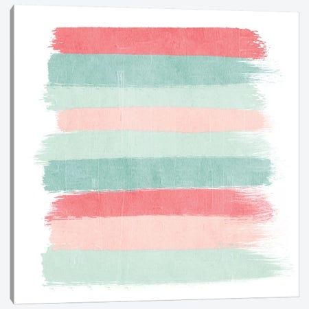 Joro Stripes Canvas Print #CHW49} by Charlotte Winter Art Print
