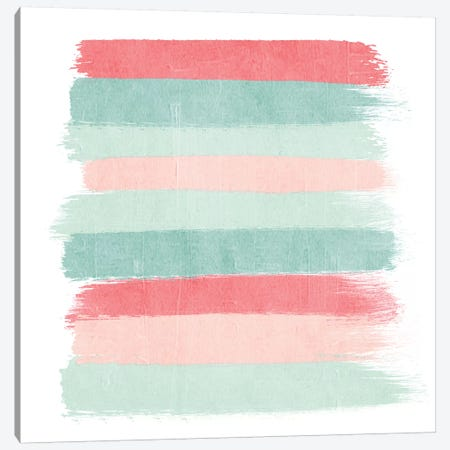 Joro Stripes Canvas Print #CHW49} by Charlotte Winter Art Print