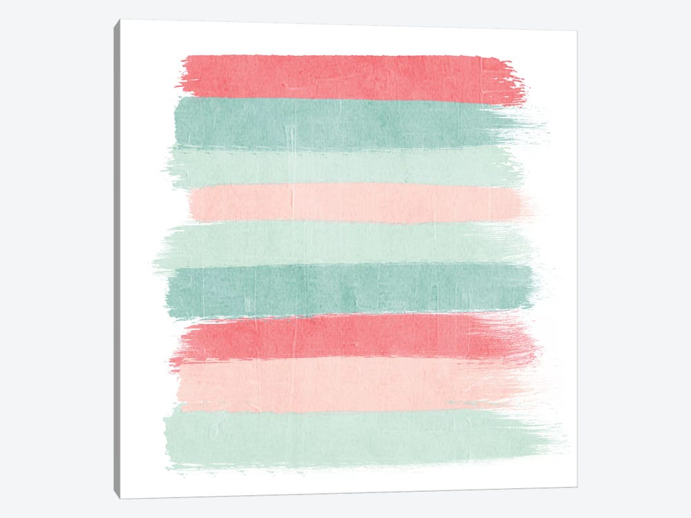 Joro Stripes by Charlotte Winter 1-piece Canvas Art Print