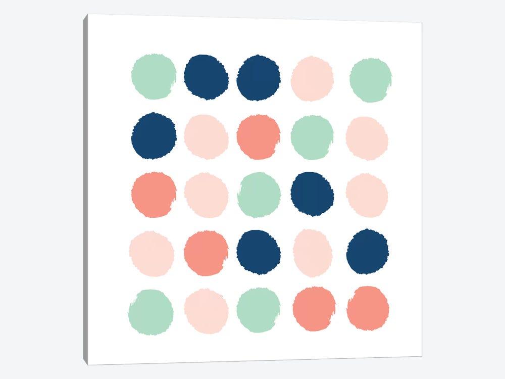 Kiela Dots by Charlotte Winter 1-piece Canvas Art Print