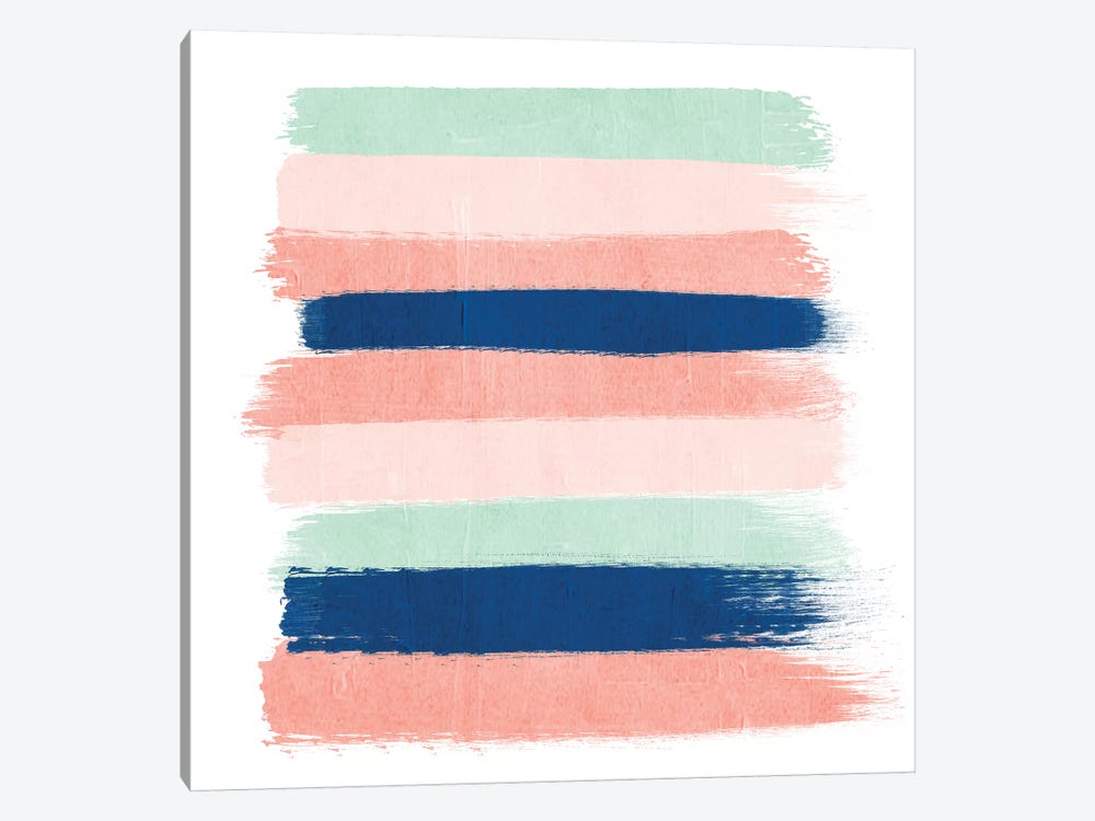 Kiela Stripes by Charlotte Winter 1-piece Canvas Artwork