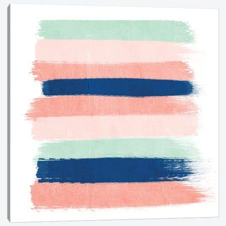 Kiela Stripes Canvas Print #CHW57} by Charlotte Winter Art Print