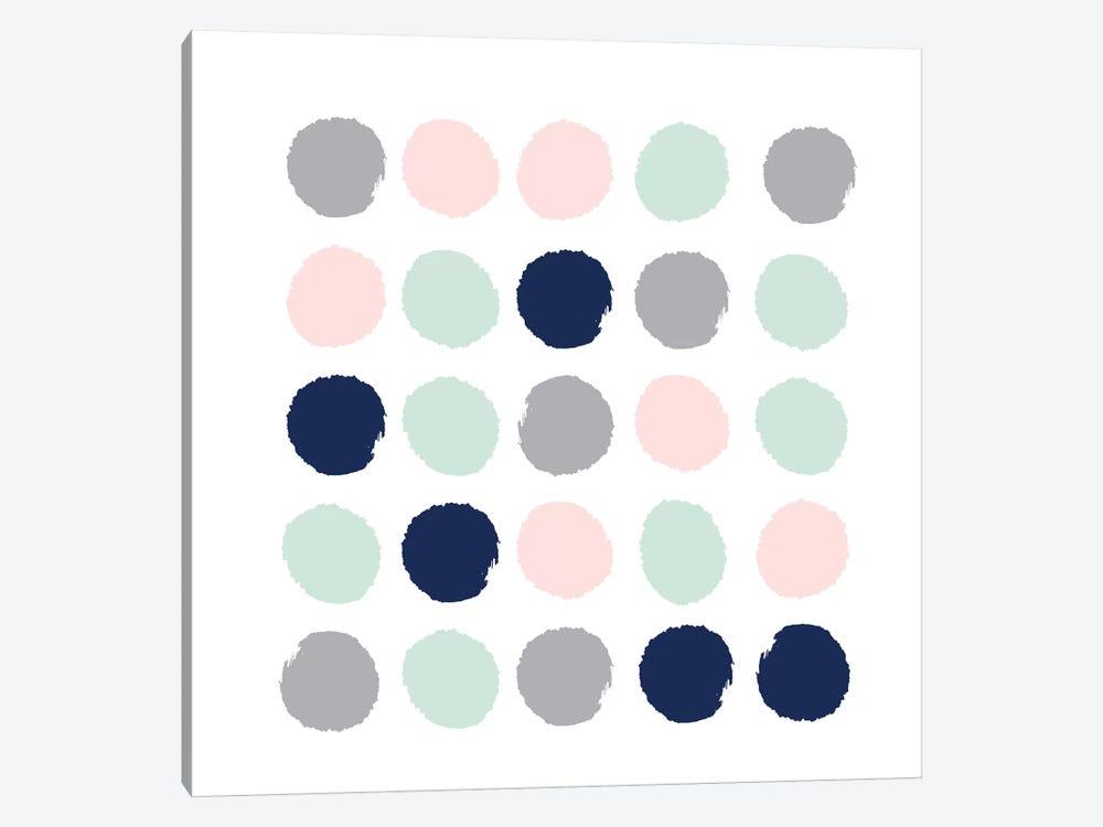 Melia Dots by Charlotte Winter 1-piece Canvas Art