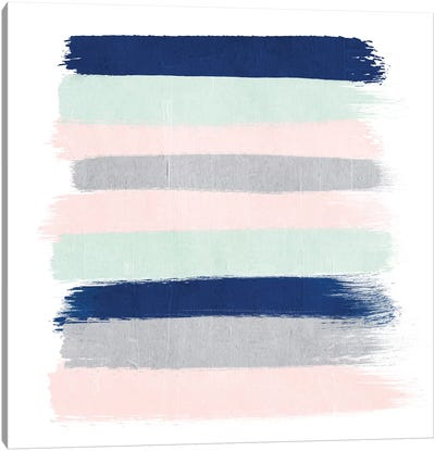 Melia Stripes Canvas Art Print