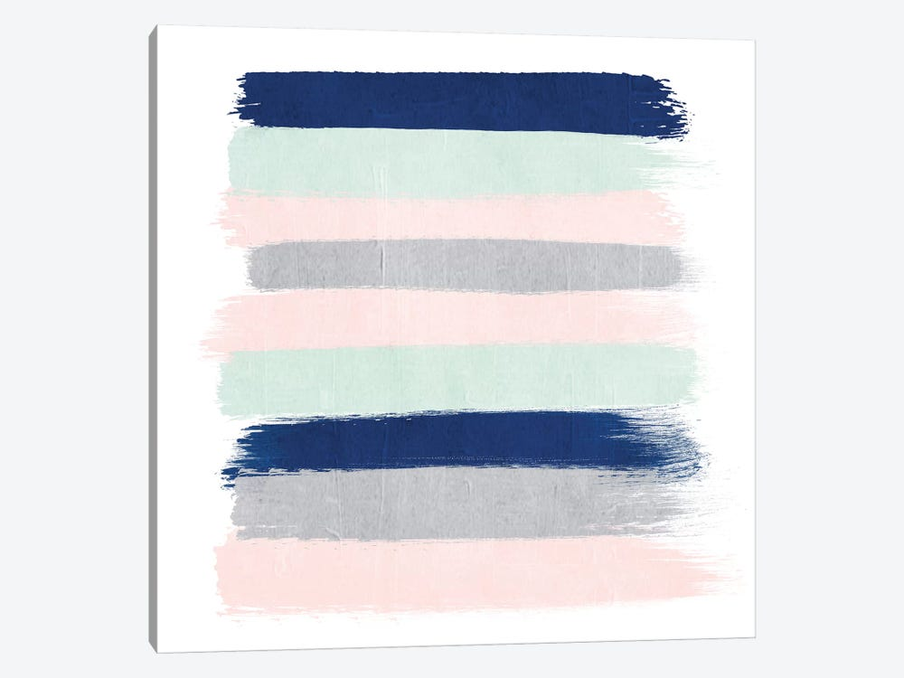 Melia Stripes by Charlotte Winter 1-piece Canvas Print