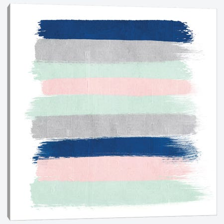 Ostara Stripes Canvas Print #CHW79} by Charlotte Winter Canvas Art