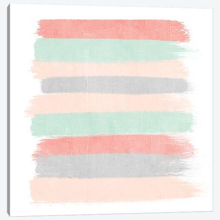Pippa Stripes Canvas Print #CHW86} by Charlotte Winter Canvas Art