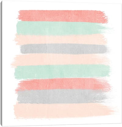 Pippa Stripes Canvas Art Print