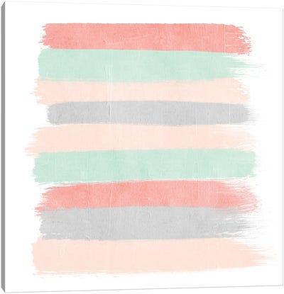 Pippa Stripes Canvas Art Print