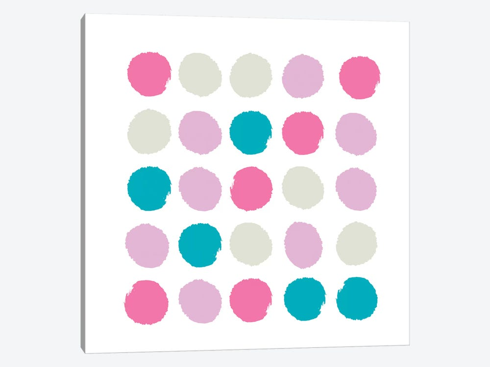 Rhea Dots by Charlotte Winter 1-piece Canvas Art Print