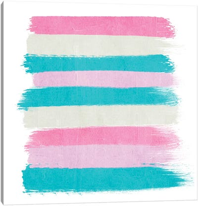Rhea Stripes Canvas Art Print