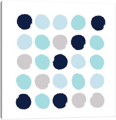 Riley Dots Canvas Art Print