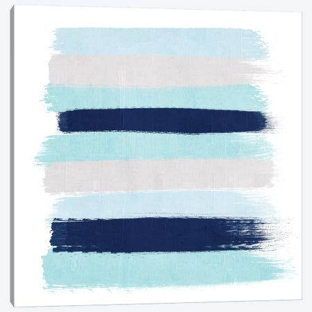 Riley Stripes Canvas Print #CHW93} by Charlotte Winter Canvas Art