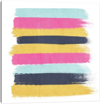 Sacha Stripes Canvas Art Print