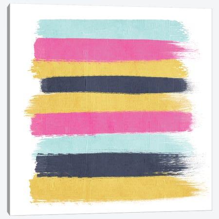 Sacha Stripes Canvas Print #CHW98} by Charlotte Winter Canvas Wall Art