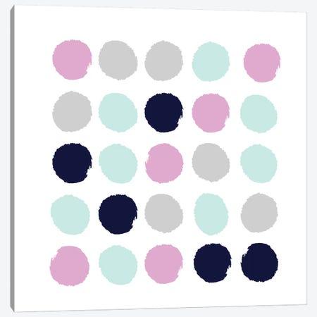 Berti Dots Canvas Print #CHW9} by Charlotte Winter Canvas Print