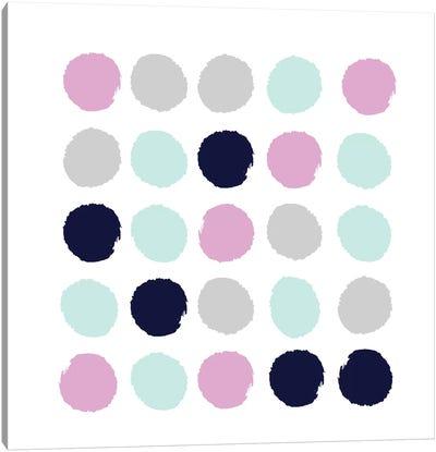 Berti Dots Canvas Art Print