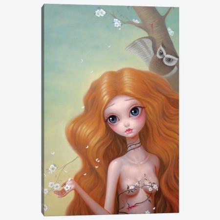 Deep In The Jungle Canvas Print #CHZ12} by Chen Hongzhu Canvas Art Print
