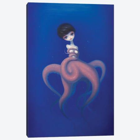 Sink Into The Deeper Sea Canvas Print #CHZ24} by Chen Hongzhu Canvas Print