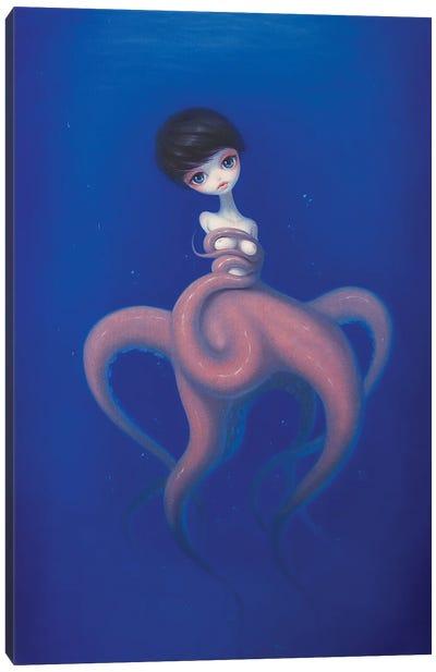 Sink Into The Deeper Sea Canvas Art Print