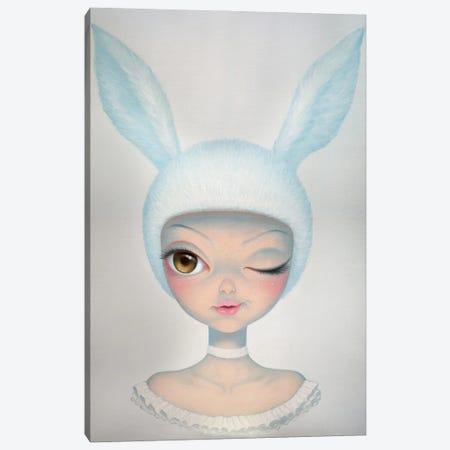 Mysterious Rabbit Canvas Print #CHZ6} by Chen Hongzhu Canvas Art Print