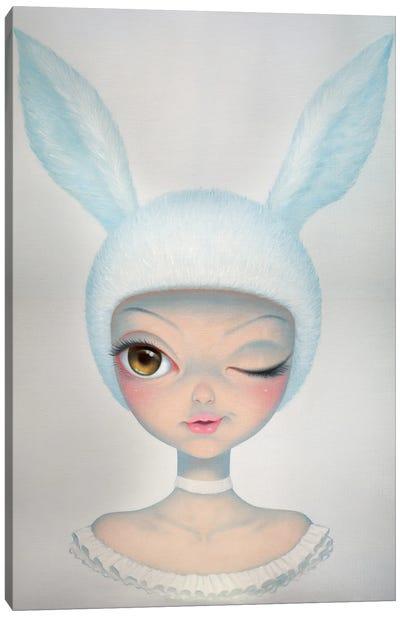 Mysterious Rabbit Canvas Art Print