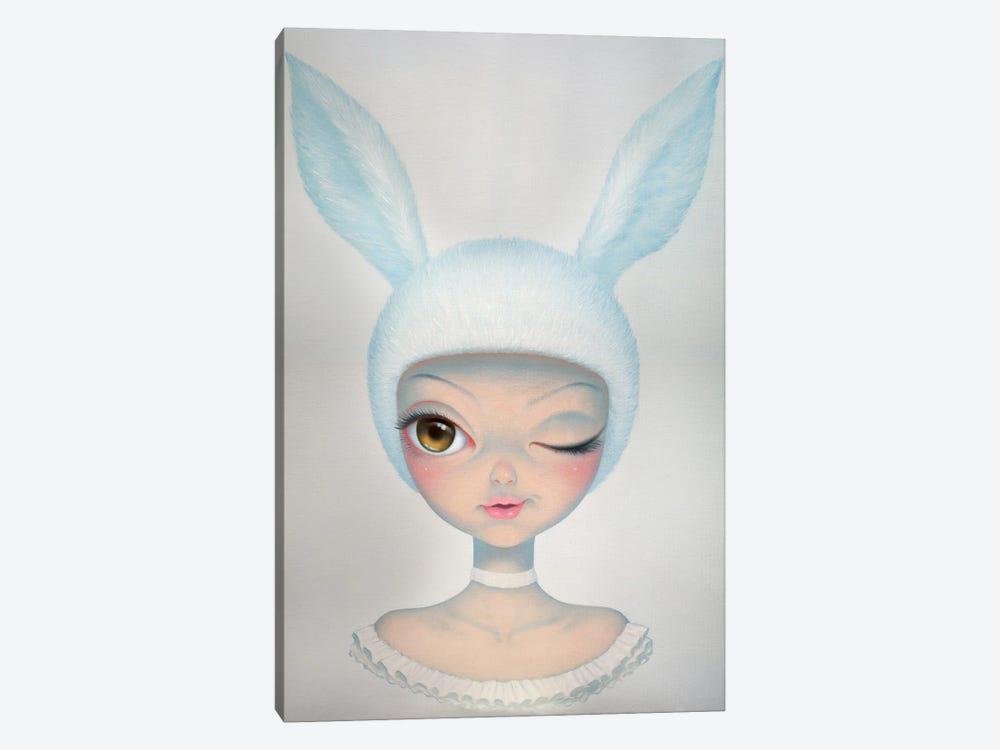 Mysterious Rabbit by Chen Hongzhu 1-piece Canvas Art