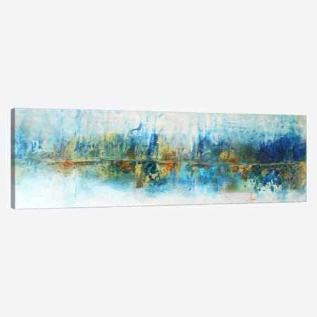 Aqua Azul Canvas Print #CIA17} by Leticia Herrera Canvas Artwork