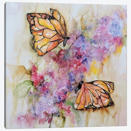 Dos Monarchas Canvas Print #CIA18} by Leticia Herrera Art Print