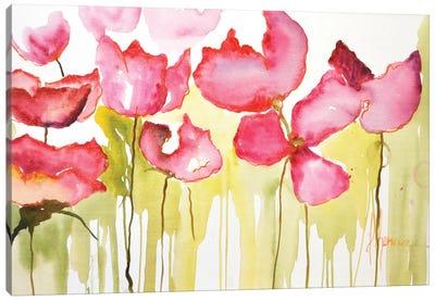 Horizontal Flores I Canvas Art Print