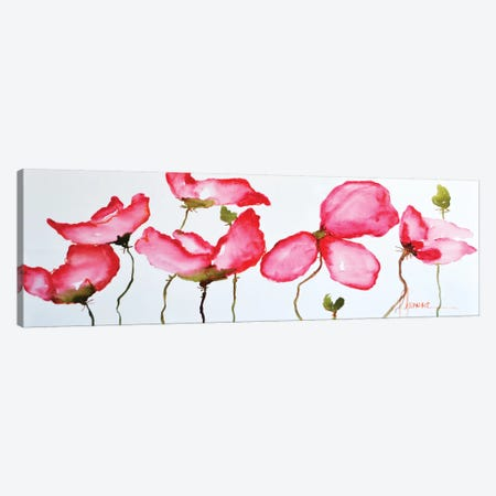 Horizontal Flores II Canvas Print #CIA21} by Leticia Herrera Canvas Art