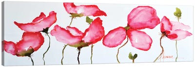 Horizontal Flores II Canvas Art Print