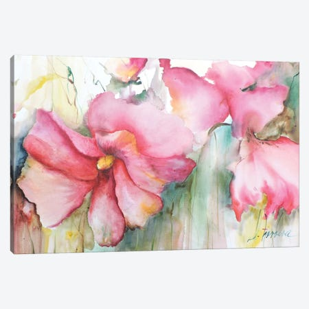 Horizontal Flores III Canvas Print #CIA22} by Leticia Herrera Canvas Art