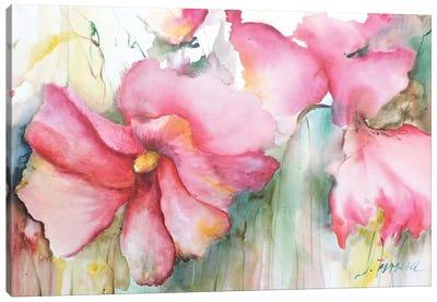 Horizontal Flores III Canvas Art Print