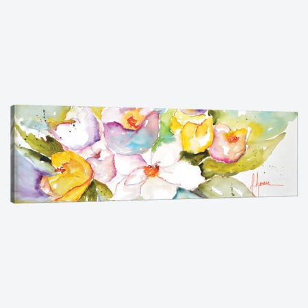 Horizontal Flores IV Canvas Print #CIA23} by Leticia Herrera Canvas Art