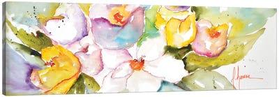Horizontal Flores IV Canvas Art Print