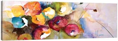 Horizontal Flores V Canvas Art Print