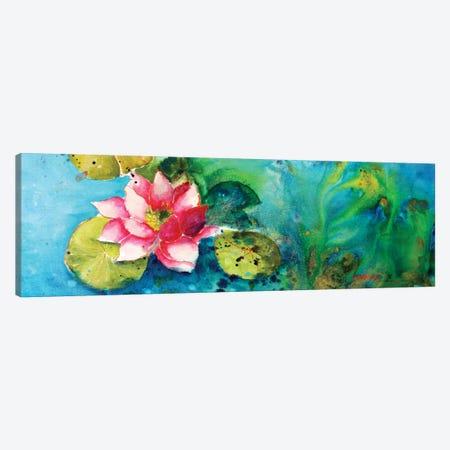 Horizontal Flores VI 3-Piece Canvas #CIA25} by Leticia Herrera Canvas Print