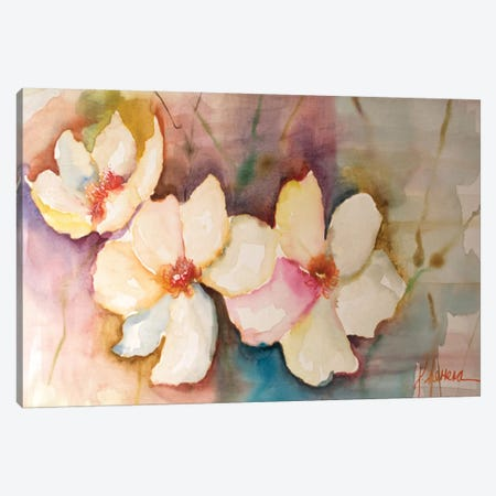 Horizontal Flores VII Canvas Print #CIA26} by Leticia Herrera Canvas Art Print
