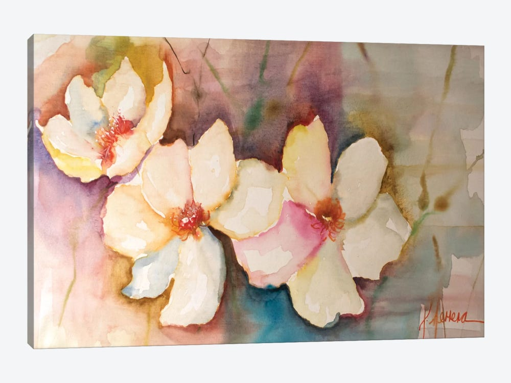 Horizontal Flores VII by Leticia Herrera 1-piece Canvas Art Print