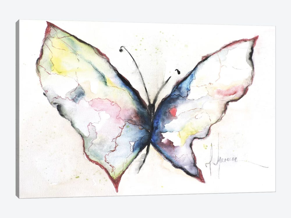 Mariposa II by Leticia Herrera 1-piece Canvas Art