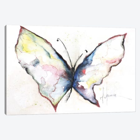 Mariposa II Canvas Print #CIA32} by Leticia Herrera Canvas Print