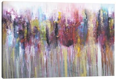 Morados I Canvas Art Print