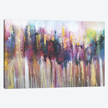 Morados II Canvas Print #CIA35} by Leticia Herrera Canvas Artwork