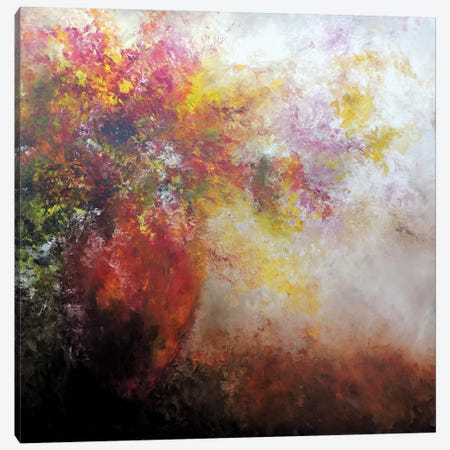 Nicho Rojo Canvas Print #CIA36} by Leticia Herrera Canvas Artwork