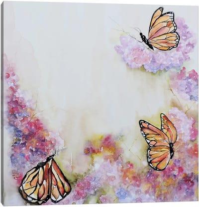 Tres Monarchas Canvas Art Print