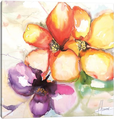 Amigas Canvas Art Print