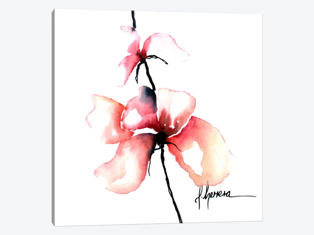 Bold Floral I 1-piece Canvas Artwork