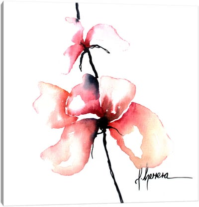 Bold Floral I Canvas Art Print